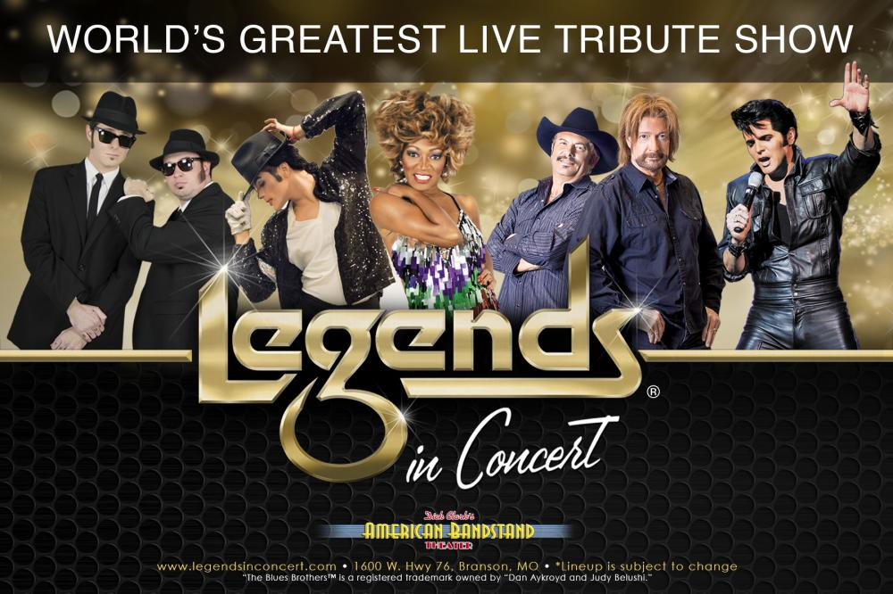 Legends in Concert 2018