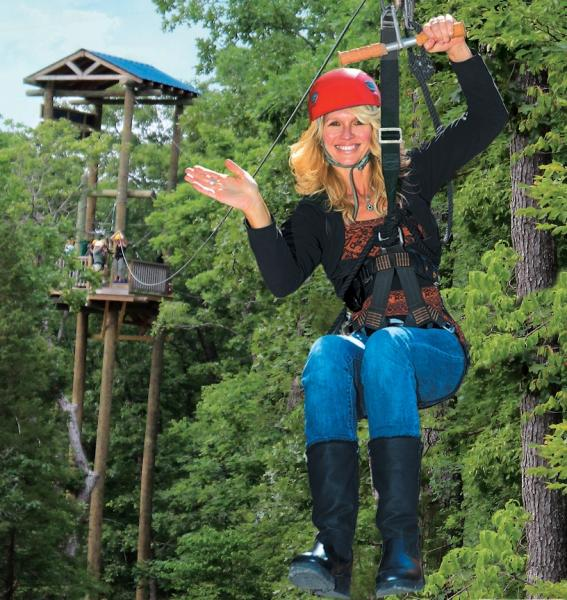 Branson Zipline Canopy Tours at Wolfe Creek Preserve