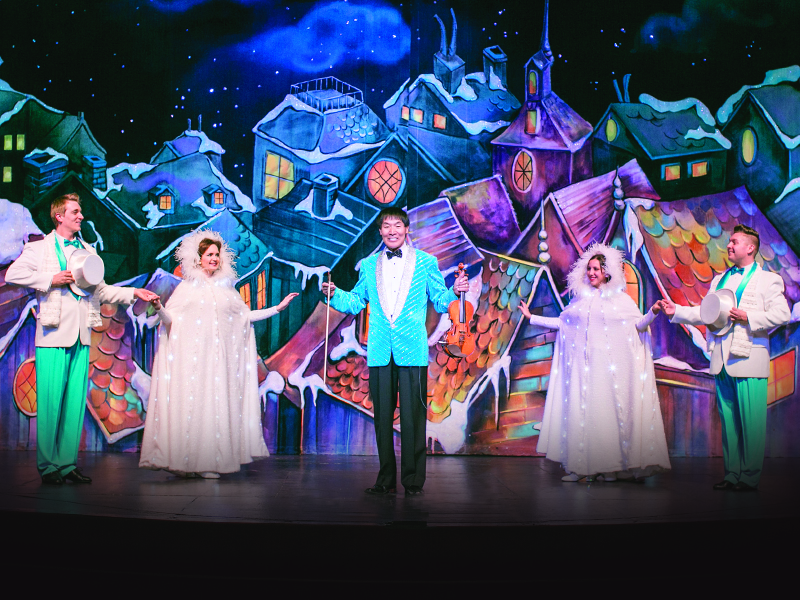 Experience Christmas like never before with The Shoji Tabuchi Family