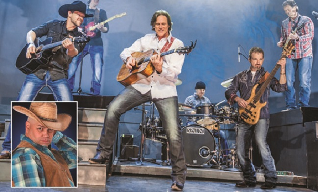Billy Dean with Steel Horses and Comedian Jarrett Dougherty
