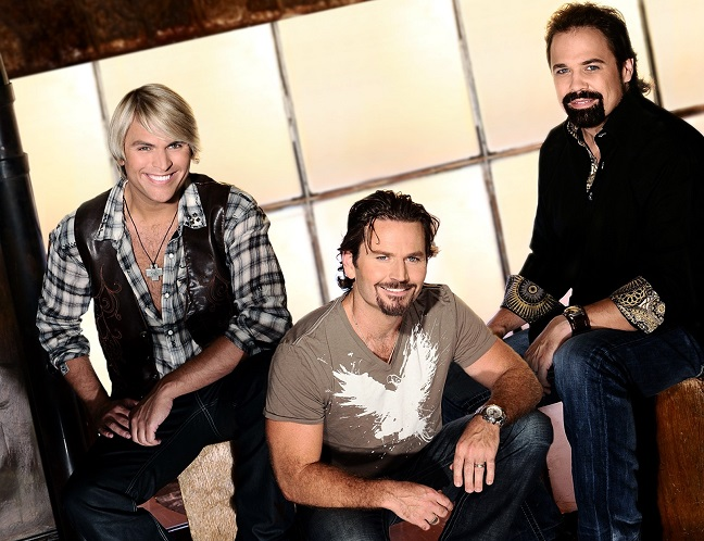 Marcus Collins, JC Fisher and John Hagen are The Texas Tenors