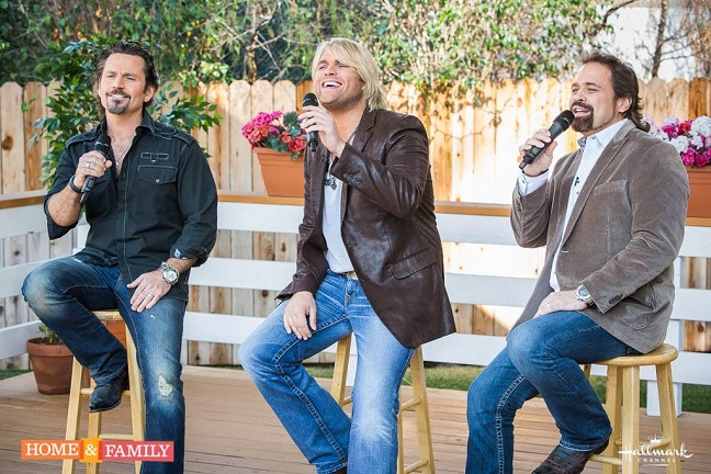 The Texas Tenors appear live on